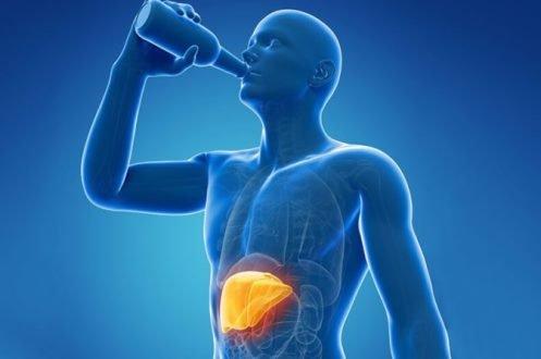 Алкогольное поражение печени - симптомы
